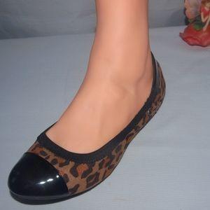 Dex-Flex Leopard Print Ballet Flats 7.5M